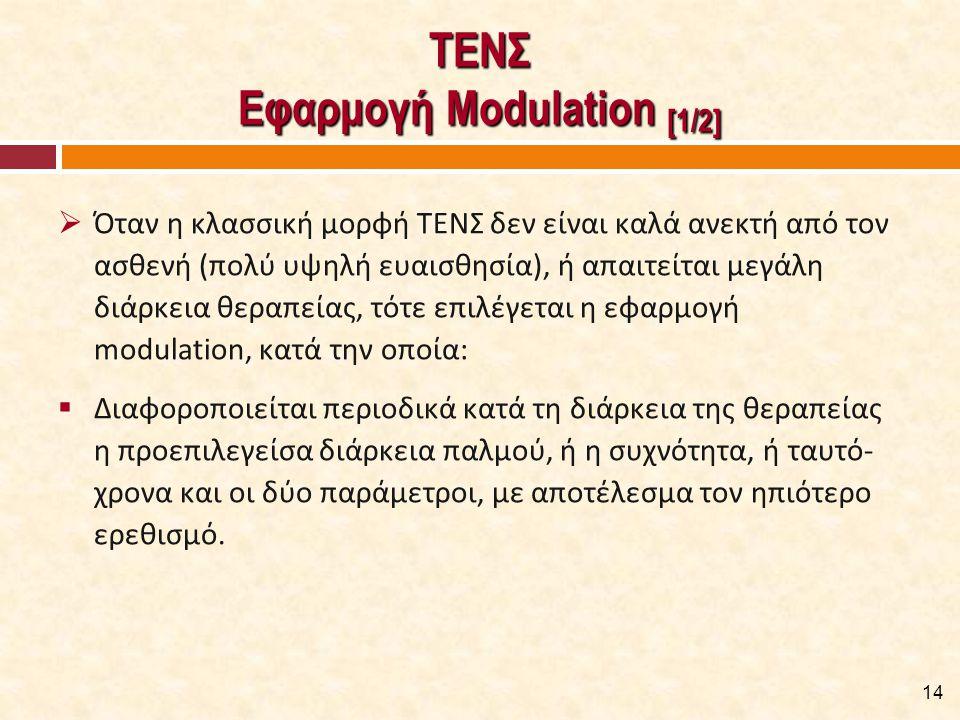 ΤΕΝΣ Εφαρμογή Modulation [2/2]